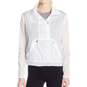 NWOT New Balance Mesh White Sprint Jacket